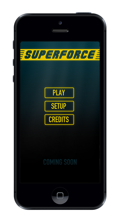Superforce main menu