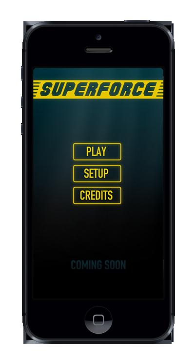 Superforce main menu