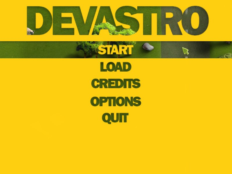 Devastro screenshot