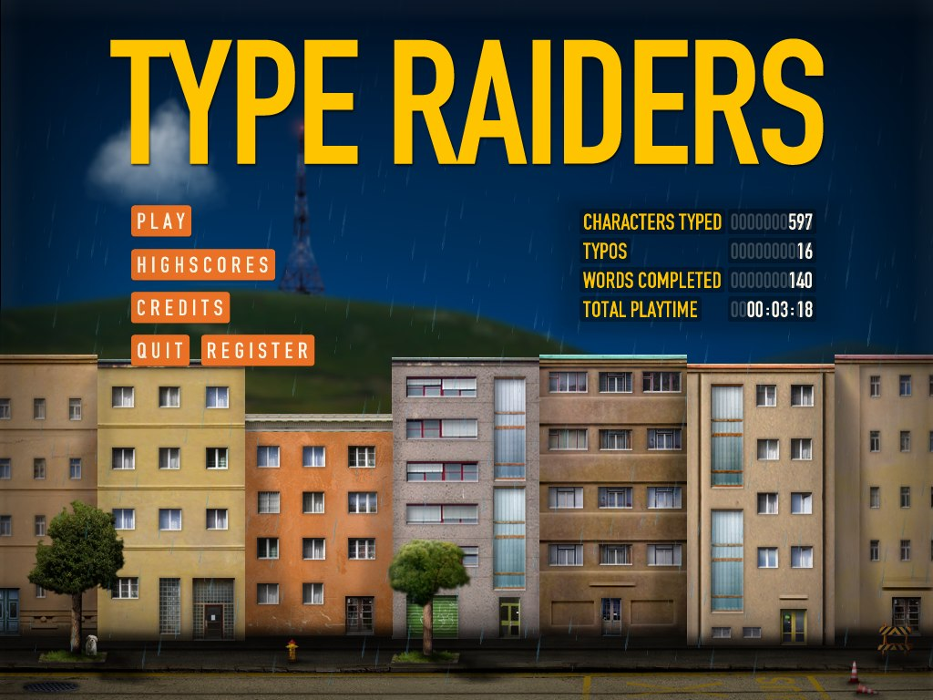 Type Raiders screenshot